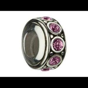Chamilia Swarovski Crystal Birthstone Wheel Charm